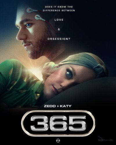 Katy Perry & Zedd - 365 Video Artwork