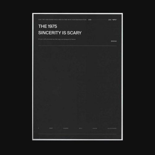 The 1975 - Sincerity Is Scary