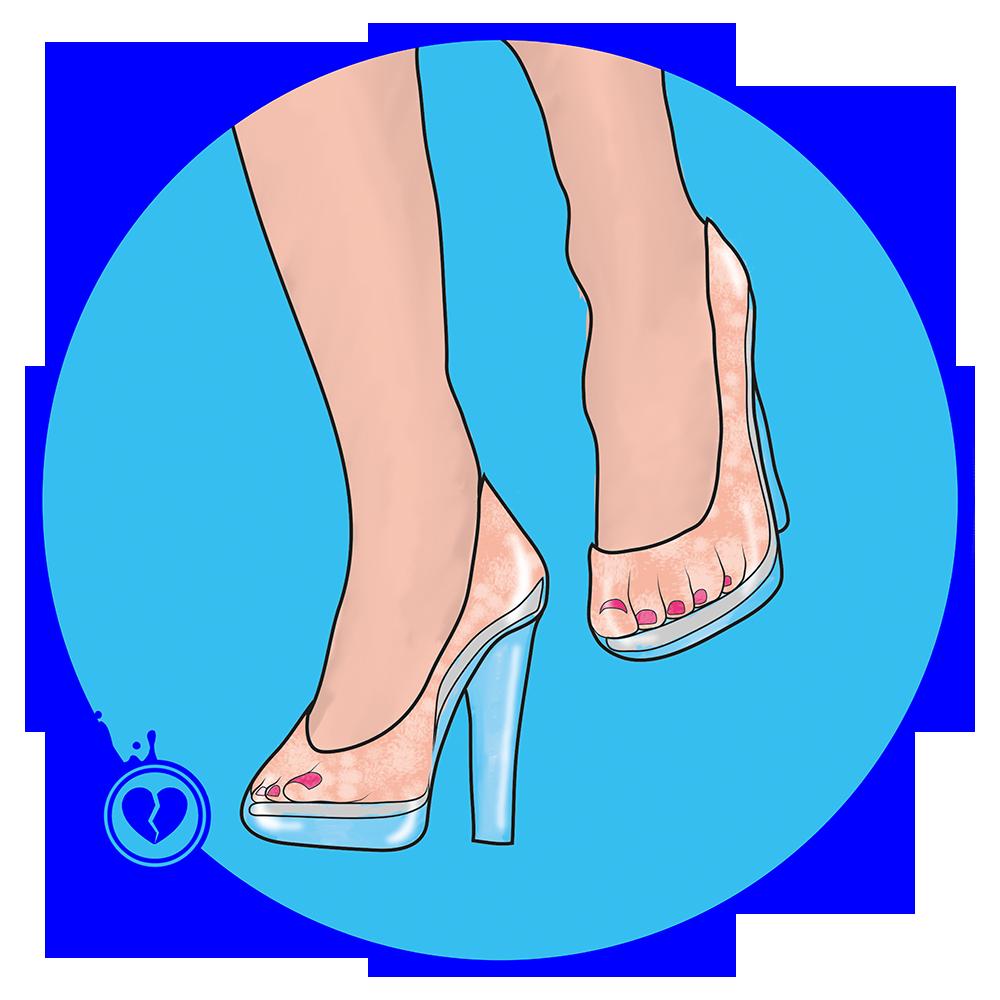 Zapatos PVC